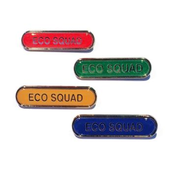 ECO SQUAD bar badge